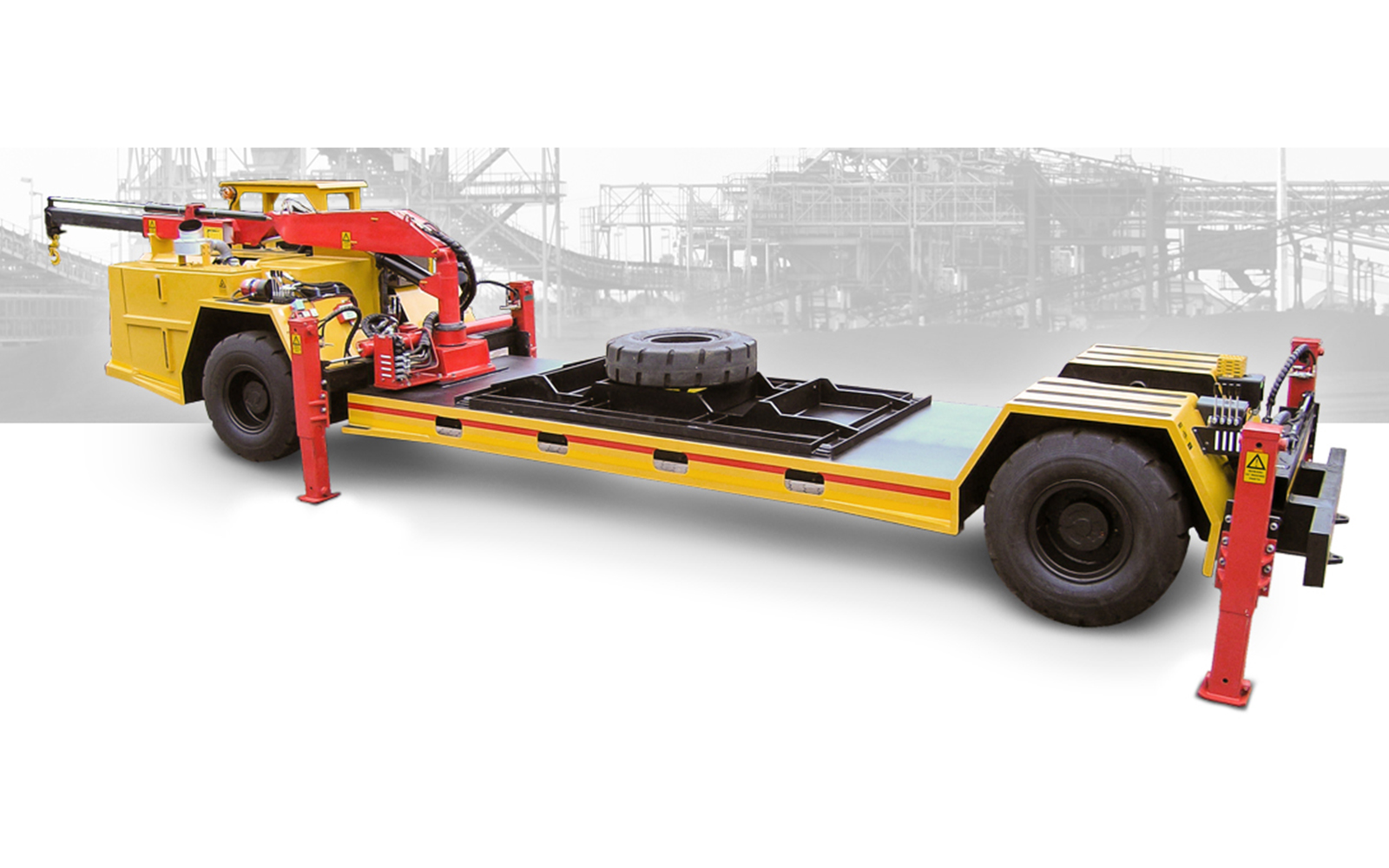 RIGID SERIES-H 4WD4WS Lowbed